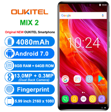 "KOMAY Original OUKITEL MIX 2 4G Mobile Phones Android 7.0 6GB RAM 64GB ROM Octa Core Smartphone 5.99"" 18:9 cell phone"