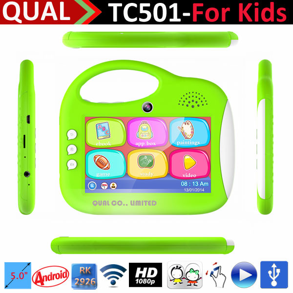 5 inch RK 2926 mini tablet computer for kids external 3g model christmas gifts Cortex A9 1.3GHz 800*480 Pixels HD Screen B