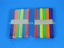 China manufacturer wooden color ice-cream stick