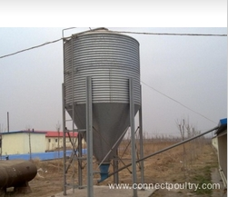Feed Silo for broiler house poultry equipment