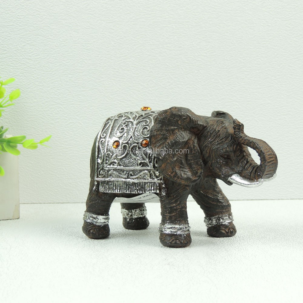 Resin Crafts Mini Thai Elephant Figurines Wholesale