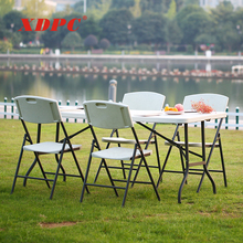 portable plastic folding picnic table and chair sets