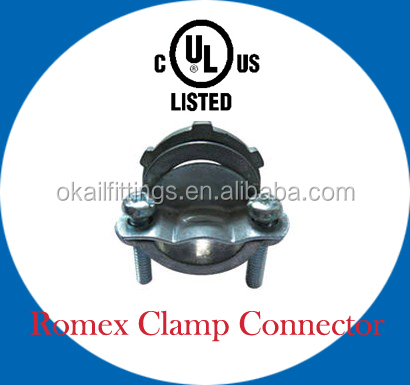Romex clamp connector