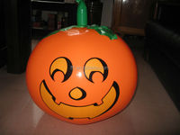 inflatable pumpkin/durable advertising inflatable pumpkin with LED light for Halloween decoration