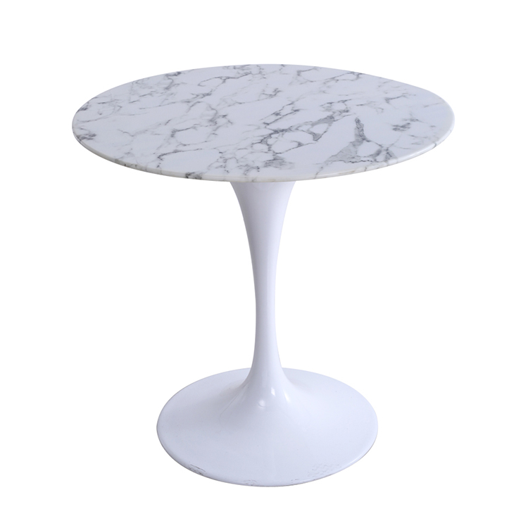 (SP-GT354) High quality artificial marble stone top dining tulip <strong>table</strong>