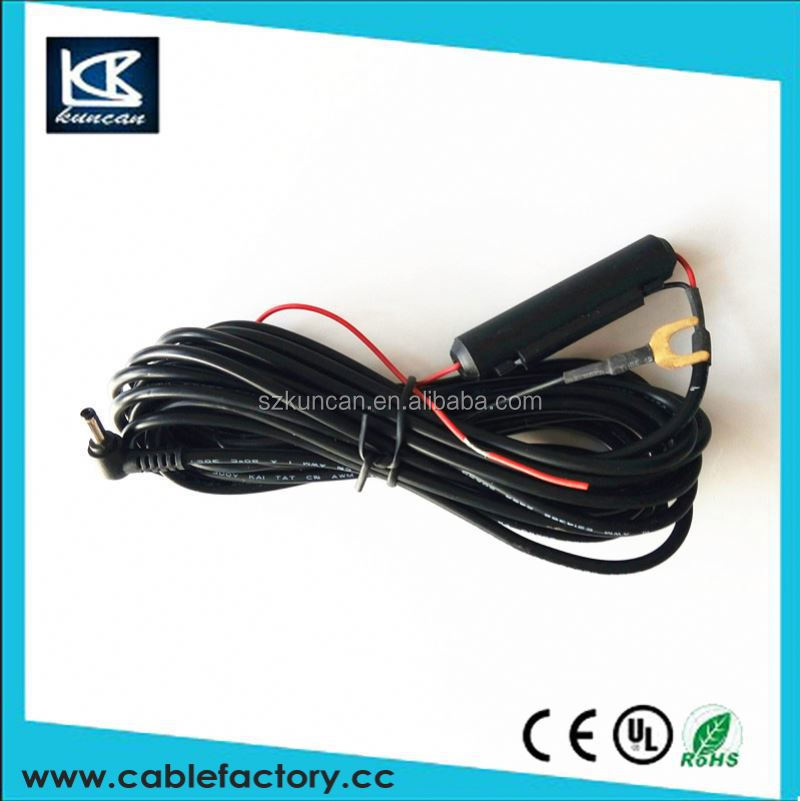 Wholesale products dc to ring powe cable 12v power cord cb radios for driving recorder