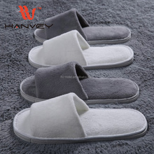 High quality cheap hotel plastic kids flip flop plush pvc indoor disposable slipper