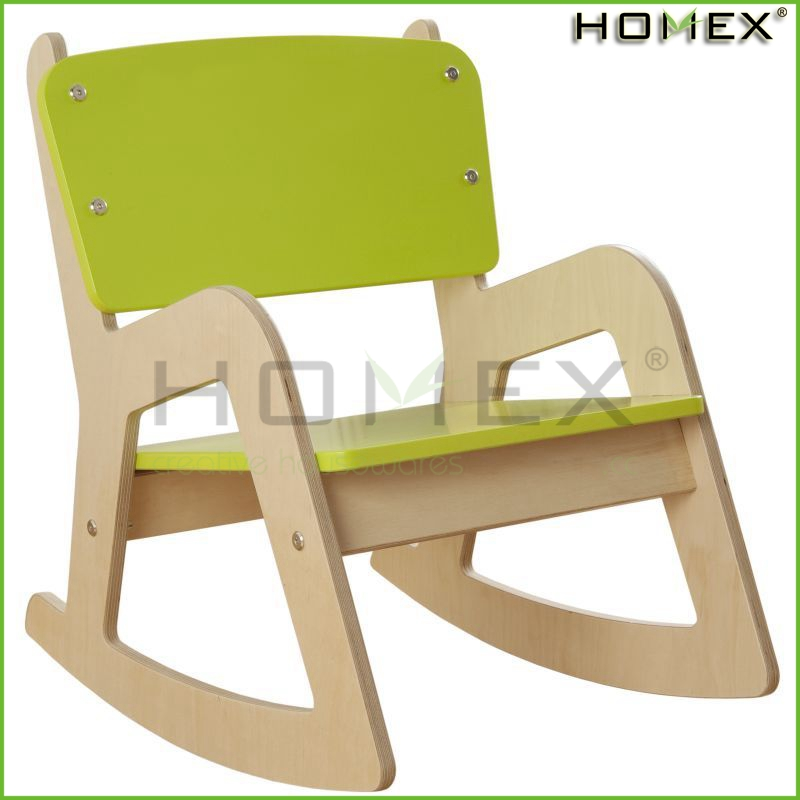 Good quality children rocking chairs classic wooden for Chaise a bascule enfant