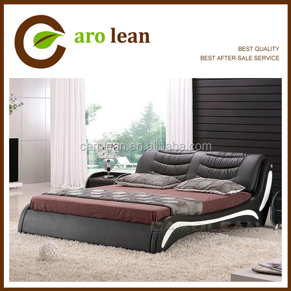 modern latest double bed designs C303