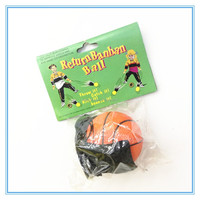 2015 Hot sales kid toy high bouncing Wrist Rubber Sport Ball