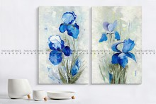 2016 Flower wall hanging drawing modern home decor flower oil painting