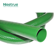 Neetrue light weight pvc lay flat hose PVC Steel Wire Reinforced Suction Hose/Flexible Transparent PVC Steel Suction Hose