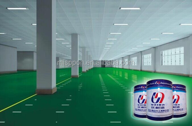 Excellent anti-scratch epoxy floor paint for hor selling