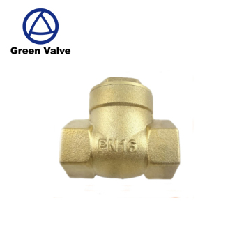 "Green Guten-Top Brass Swing Check Valve from 1/2"" to 4"""