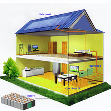China direct factory pv 6kw on grid solar power for home