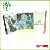 Gift promotional kraft paper bag with logo printing