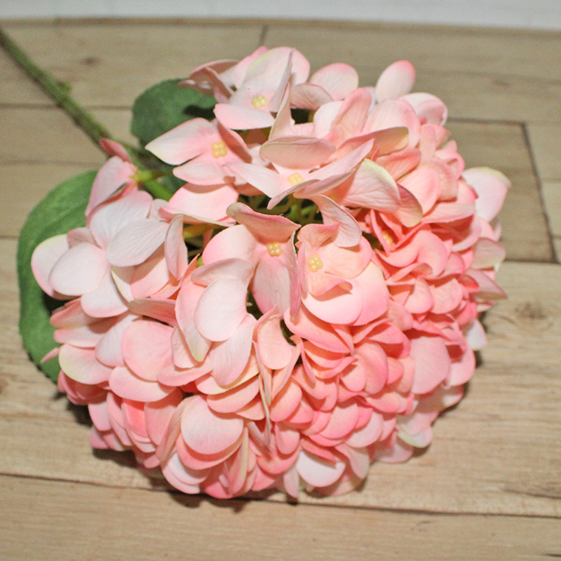 Wedding Preserved Real Touch Hydrangea Bouquet Fake Artificial Flower Wholesale