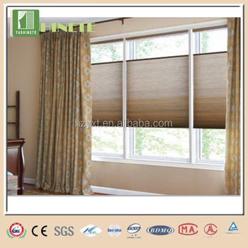 Bali honeycomb blinds remote control blind motor easy lift for Bali blinds motorized remote control