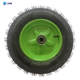 Strong air rubber wheel/wheelbarrow tyre 3.50-4 for hand trolley
