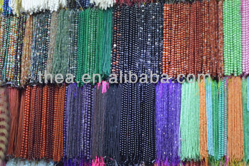 Multi material beads for jewelry making hot selling natural loose beads in 2013 trendy