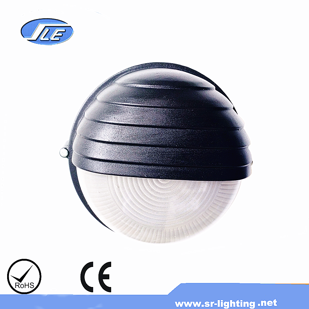 high quality new products factory direct selling outdoor wall lamp round aluminum 60w bulkhead light