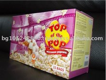 "Good Flavor Microwave popcorn ""Top of the Pop""- Sugar - Display box(15 pcs)"
