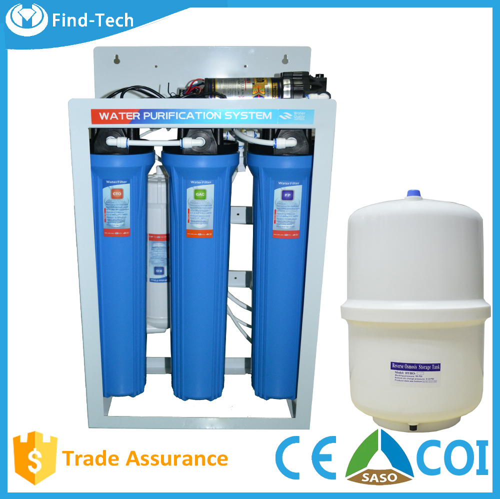 water filtration Stand Installation and Plastic Housing Material 5 stage reverse osmosis commercial water purification system