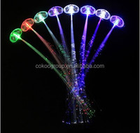 2014 world cup promotional gifts giveaways cheap bulk gifts 2014promotional gifts led hair clip/led hair braid