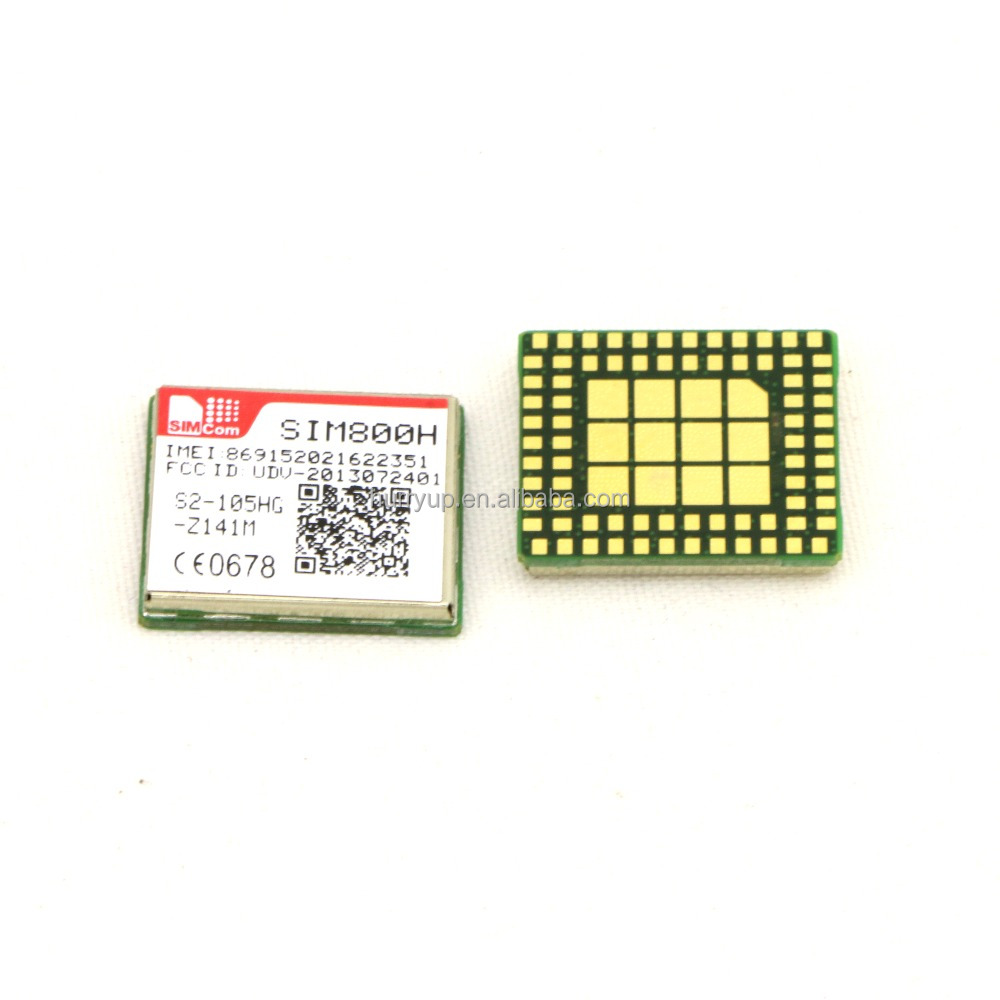 SIM800H SIMCOM GSM / GPRS Module Support Bluetooth FM Embedded AT