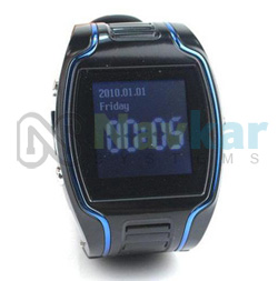 GPS Personal Tracker Wrist Watch Two Way Calling Mobile Phone