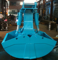 Excavator grab bucket clamshell bucket for 15T 20T 25T 30T 35T 40T excavator