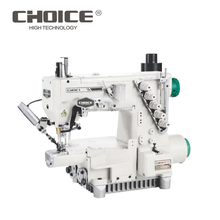 GC720T-EST Direct-drive Auto-trimmering Computerized Small Cylinder-bed General Seaming Interlock Industrial Sewing Machine