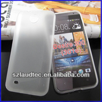 Soft case For HTC Desire300 plain tpu gel case for HTC Desire 300