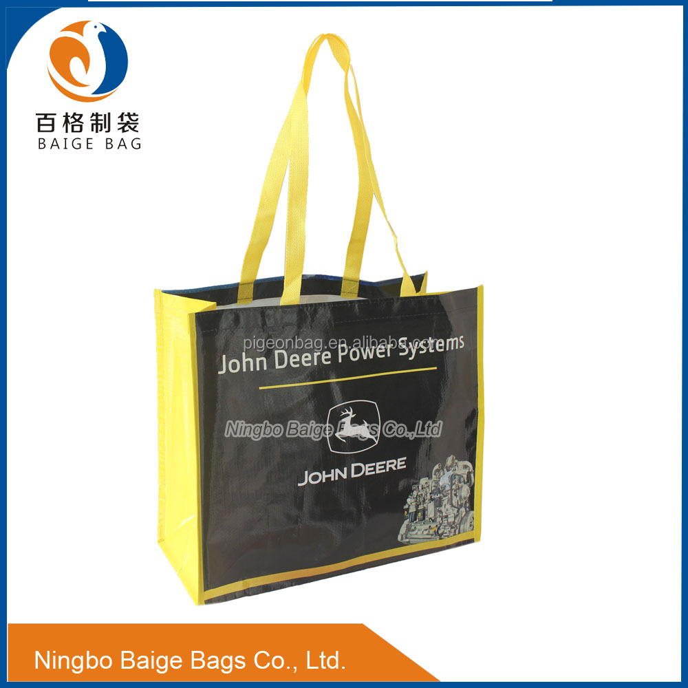 Customized Large Size PP Raffia Bags for Shopping