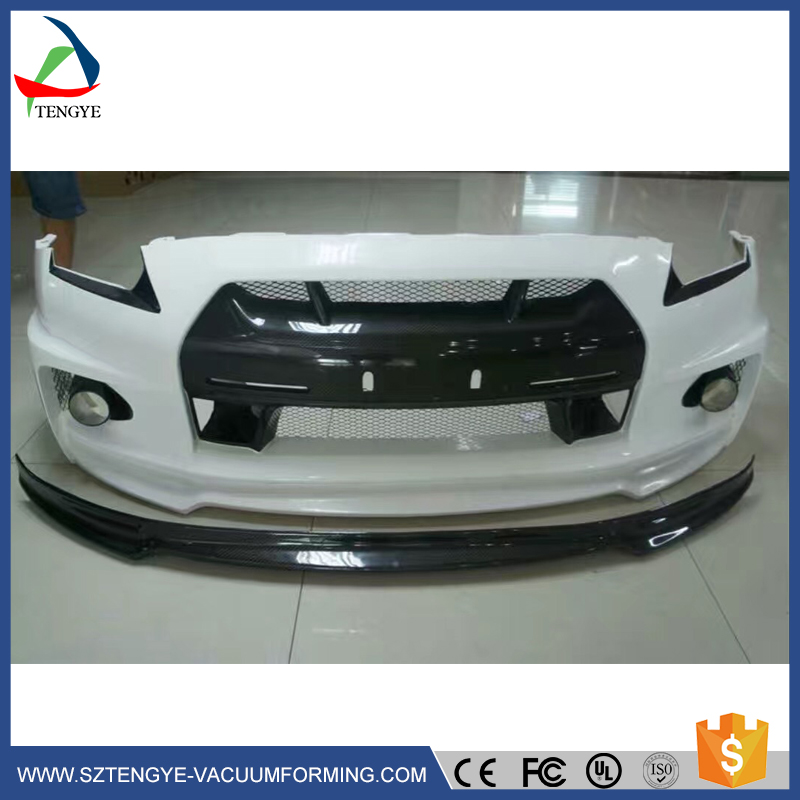 cheap abs plastics s patrol vacuum formed abs bumper