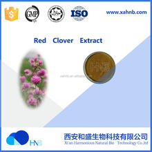 biochanin A isoflavones sources from natural organic Red Clover Powder Extract Trifolium pratense extract powder for sale