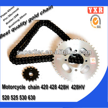 Chinese spare parts for motorcycle,China supplier motorcycle spare part,chain sprocket set