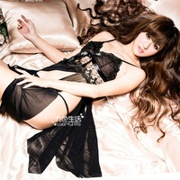 2016 hotselling wholesale female transparent sexy lingerie