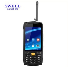 SWELL N2 3g walkie talkie durable dual sim non camera android 6.0 intelligent rugged smartphone 8 sim mobile phone