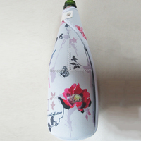 Neoprene factory directly Personalized Neoprene Champagne Bottle Holder ,Wine Cooler