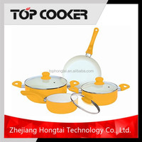 Press aluminum ceramic new products innovative cookware set
