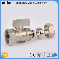 wholesalebrass ball valve thread compression fitting for copper pipe brass components