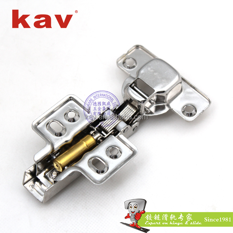 stainless steel strap hinge self closing fixed on kitchen cabinet hinges