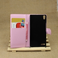 Durable new products leather cover for huawei ascend p6 mini