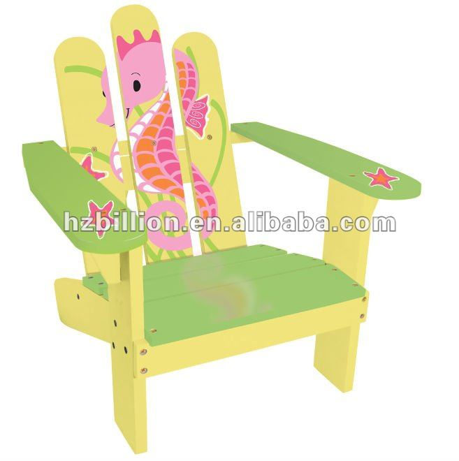 outdoor furniture Chloe seahoue wooden kid beach chair outdoor garden chair