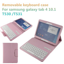 China Factory 10.1 inch Cover Bluetooth Keyboard Protective Case For Samsung Galaxy Tab 4 T530