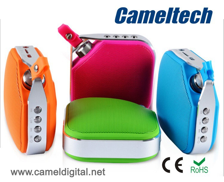 USB Rechargeable Mini Bluetooth Speaker For MP4/ Iphone / Tablet PC