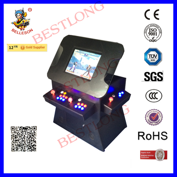 NEW ARCADE COCKTAIL GAME MACHINE WITH LIFT SCREEN(BS-C4LC19LIFTB)
