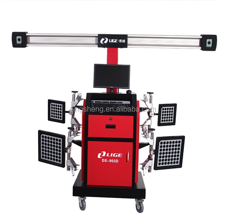 Advanced 4 Tyres Alianment Equipment/ 3D Wheel Alignment