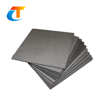 Customized high purity graphite grade natural graphite plate